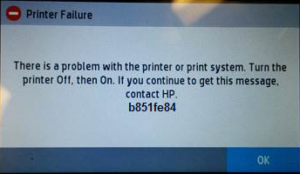 HP Printer Error Code