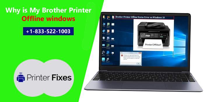 Brother printer offline windows